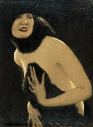 "Alfons Walde - ""Erotikum"", ca. 1925"