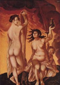 Baldung-Die zwei Hexen
