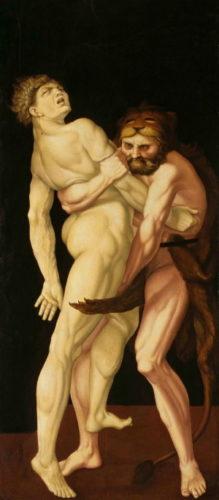 Baldung - Herkules und Antäus