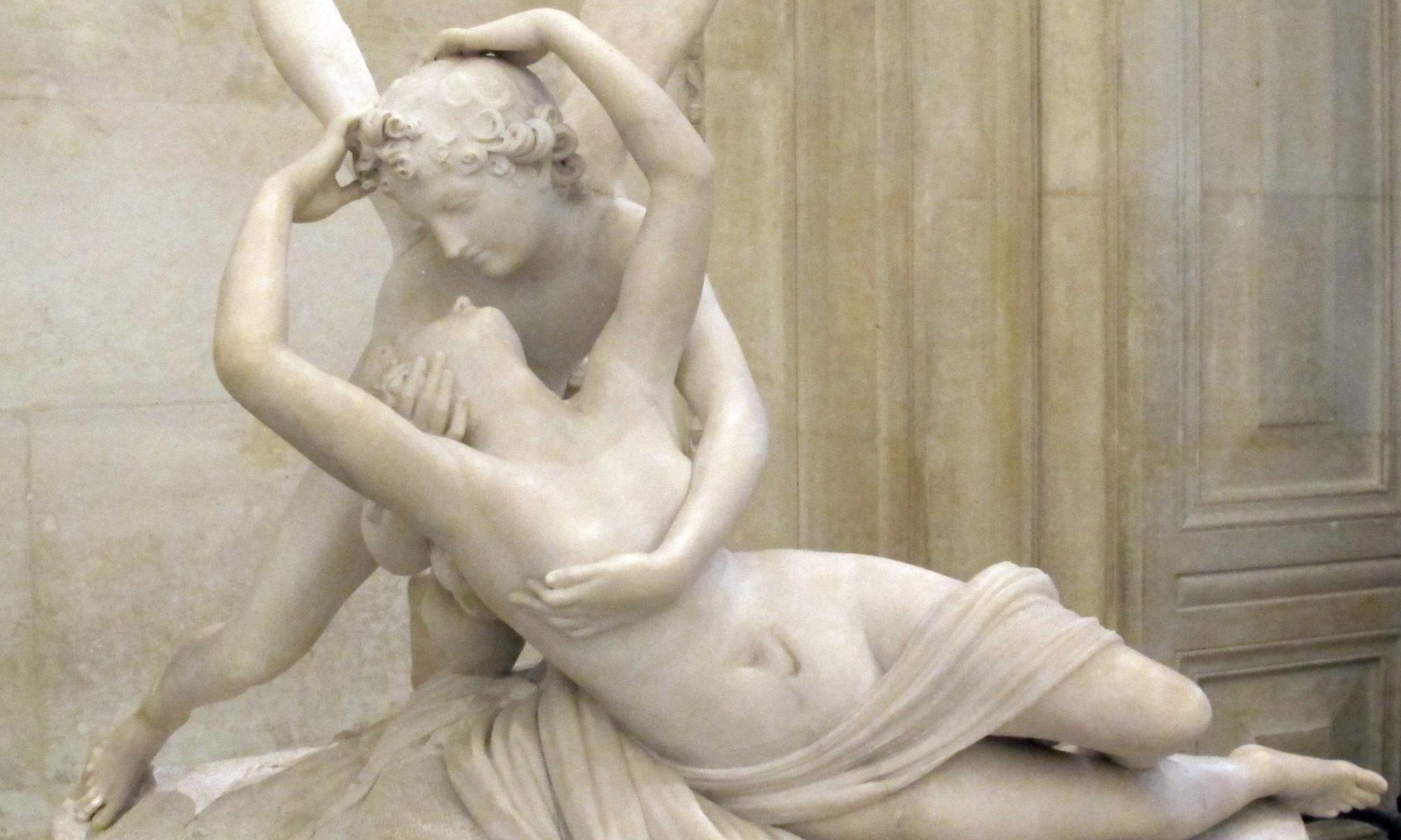 Canova-Amor und Psyche - Detail