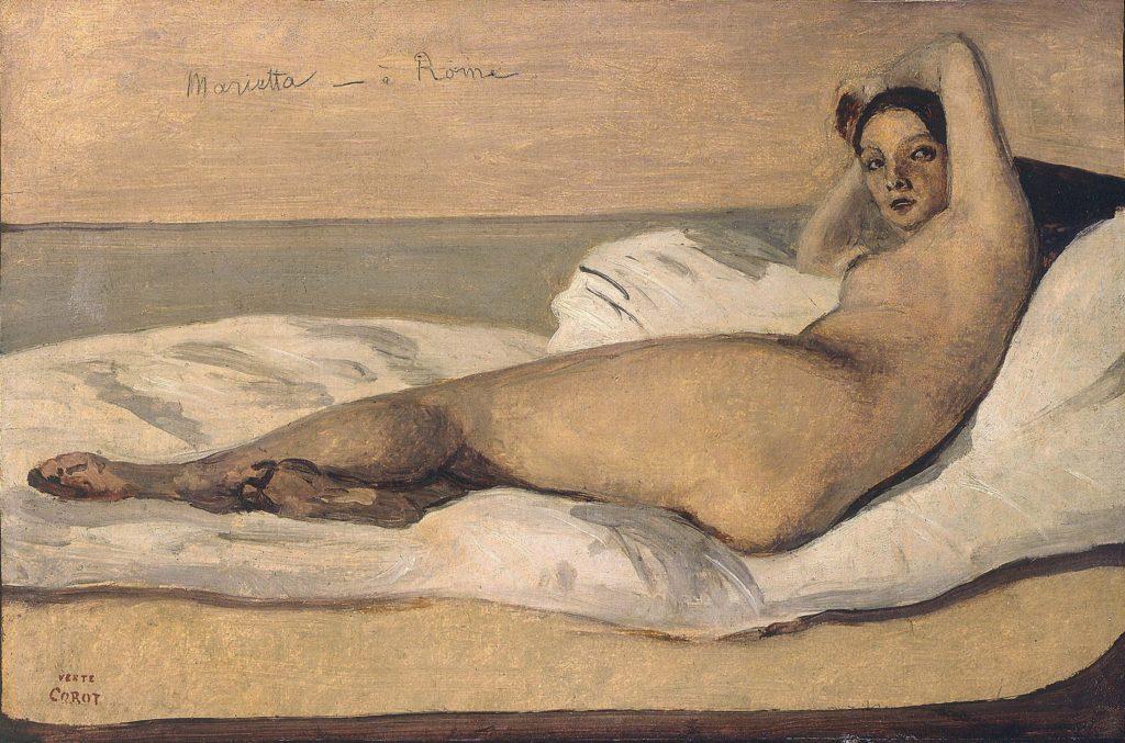 Corot - Marietta