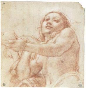 Correggio-Eva mit Apfel