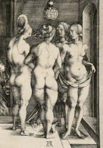 Dürer - Die vier Hexen