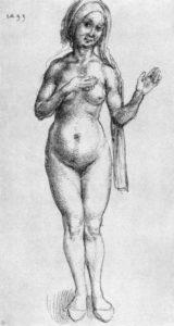 Dürer - Badefrau