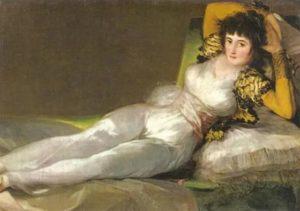 """Goya - """"Die bekleidete Maja"""""""