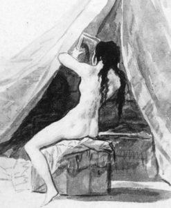 Goya - Akt