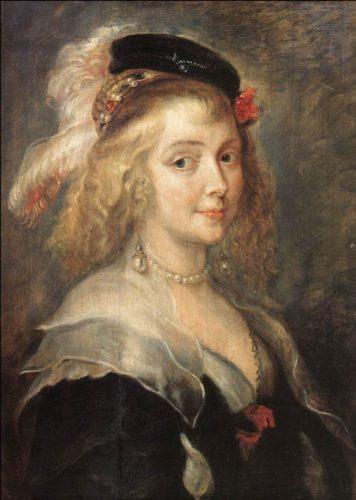 Hélène Fourment von Jan Boeckhorst