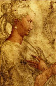 "Parmigianino - ""Die heilige Katharina"""