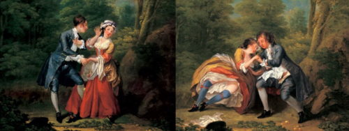 Hogarth - Before and After Seduction - 1