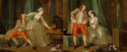 Hogarth - Before and After Seduction - 2