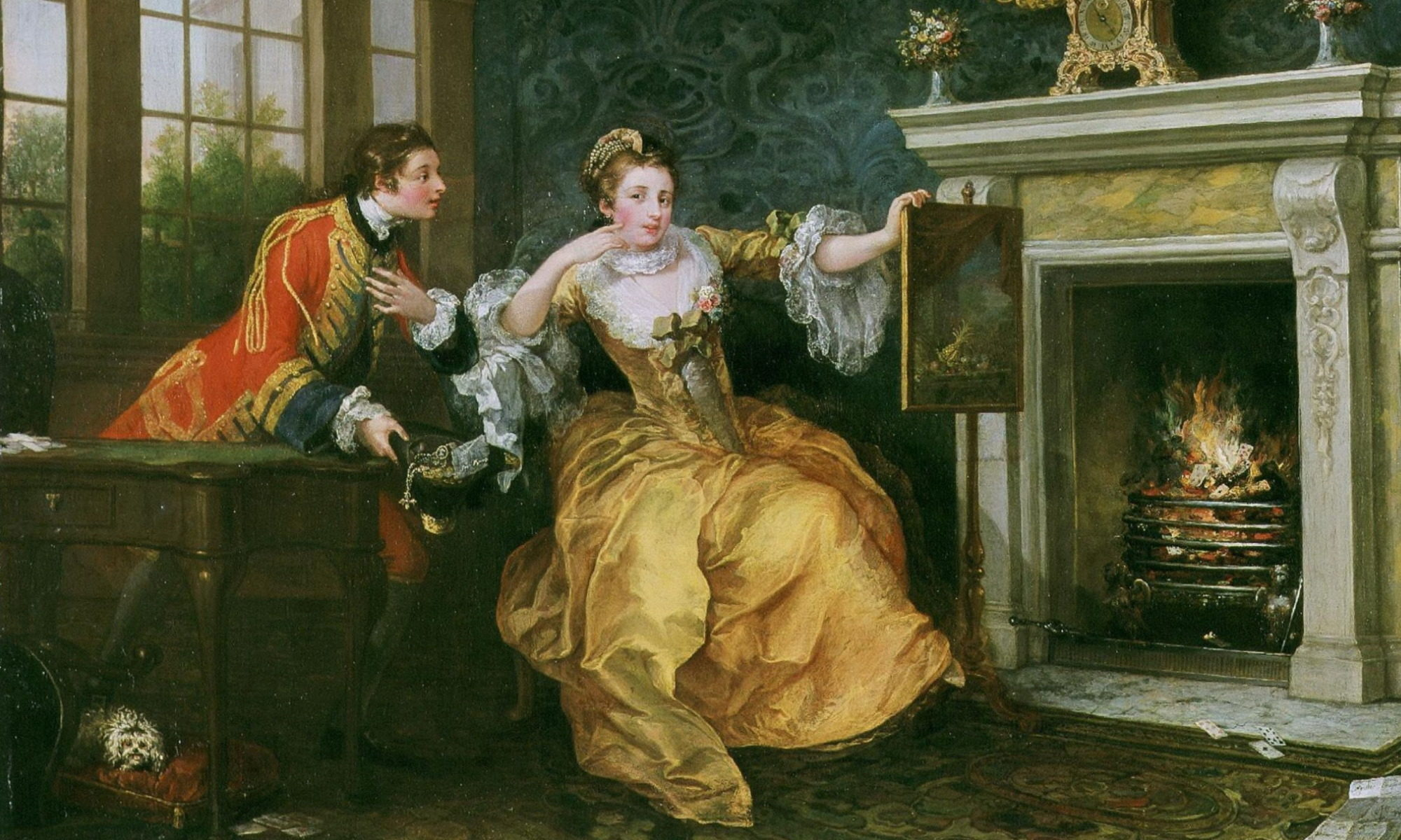Hogarth - The Lady's Last Stake