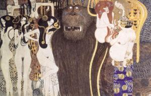 Klimt-Detail Beethovenfries 1902