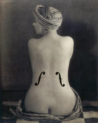 Man Ray, Le Violon d'Ingres, 1924