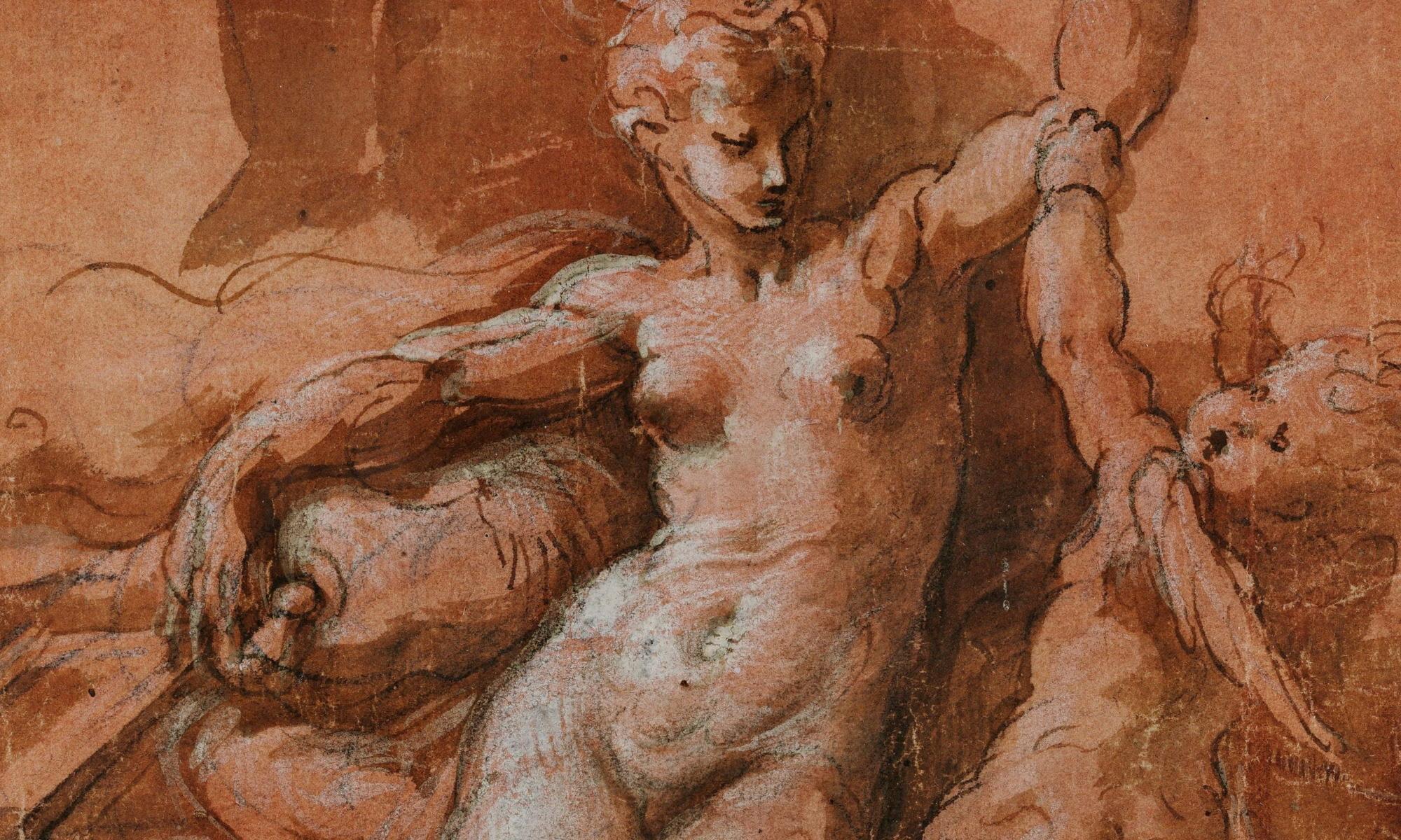 Parmigianino - Venus-Detail