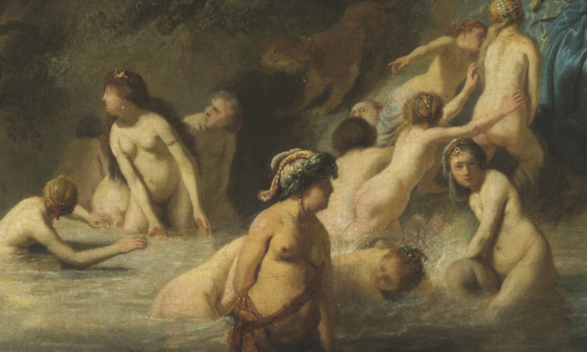 Rembrandt - Diana mit Aktäon und Kallisto