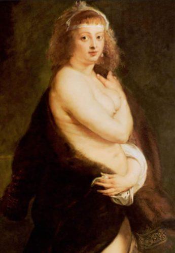 Rubens-Pelzchen