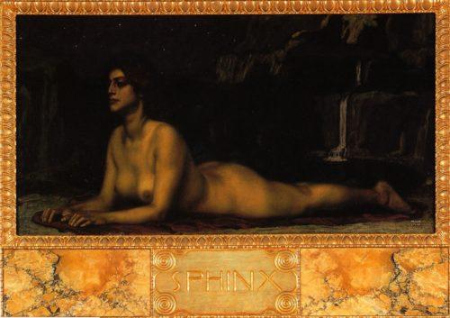 Franz von Stuck - Sphinx