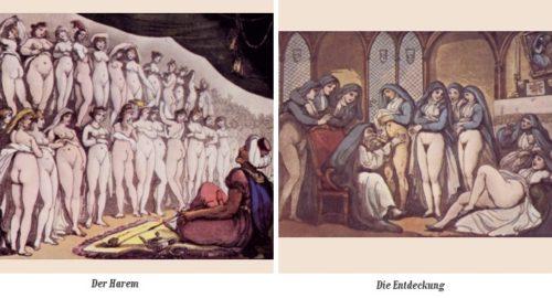 Rowlandson - erotische Karikaturen