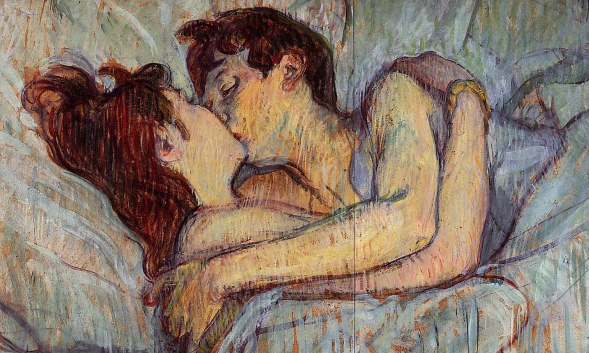 Toulouse-Lautrec - Im Bett