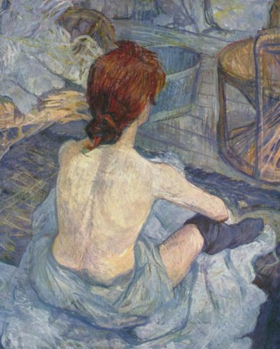 """Toulouse-Lautrec - """"Die Toilette"""""""