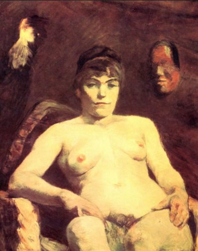 """Toulouse-Lautrec - """"Die dicke Marie"""""""