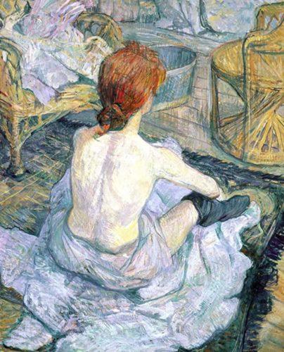 """Henri de Toulouse-Lautrec """"La Toilette"""""""