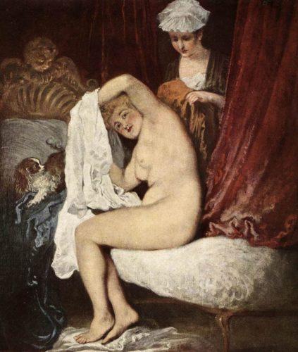 Watteau - Die Toilette