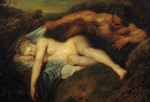 Watteau Jupiter und Antiope