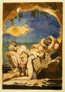 William Blake-Die Visionen der Töchter Albions